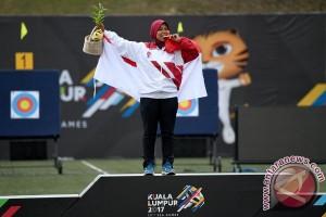 SEA Games 2017 - Dua emas panahan sebagai kado kemerdekaan