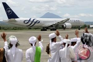 Hari ini kloter terakhir Aceh diberangkatkan ke Saudi