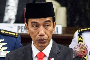 Presiden pimpin apel kehormatan di TMP Kalibata