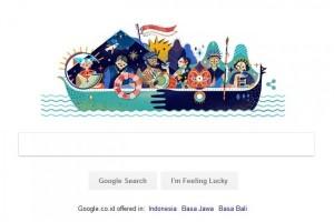 Begini cara Google ikut semarakkan HUT ke-72 RI