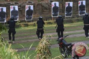 Pelatihan Tim Jaguar Polresta Depok