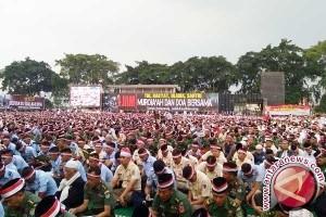 Warga Kota Bandung gelar doa bersama 171717