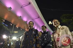 Presiden acungkan jempol untuk Simpang Susun Semanggi