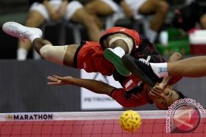 Sepak Takraw Indonesia VS Thailand