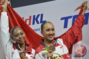 SEA Games 2017 - Indonesia tambah dua perunggu dari renang
