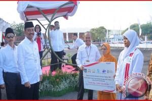 HUT 72 Indonesia, BUMN Hadir untuk Negeri di NTB lewat bedah rumah