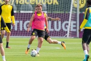 Goetze main sejak awal laga Dortmund kontra Wolfsburg