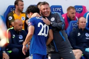 Leicester menang 2-0 atas Brighton