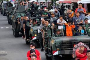 Parade Kemerdekaan Alutsista TNI