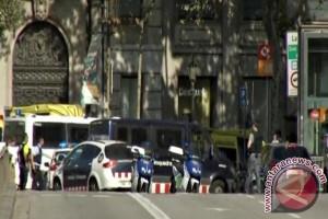Pelaku serangan Barcelona mungkin sudah menyeberang ke Prancis