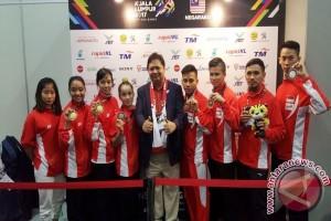 SEA Games 2017 - Penuhi target, Airlangga pastikan bonus menanti atlet wushu
