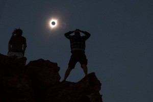 Gerhana matahari langka menebar ketakjuban di Amerika