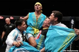 ONE Championship Jakarta hadirkan laga utama petarung Kazakhstan kontra Filipina