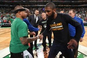 Cavaliers-Celtics setujui pertukaran libatkan Irving dan Thomas