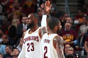 Cara LeBron James antar kepergian Irving