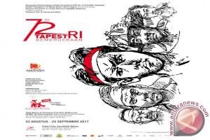 Sambut Hut RI ke-72, LKBN Antara gelar pameran dan peluncuran buku foto TapestRI Kemerdekaan