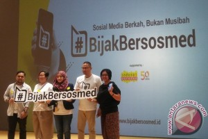 #BijakBersosmed, gerakan jaga penggunaan medsos diluncurkan
