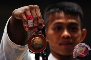SEA Games 2017 - Hari pertama judo Indonesia raih dua emas
