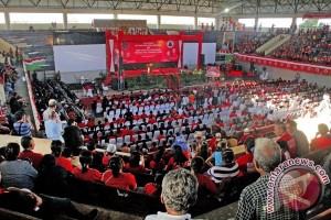 Megawati Hadiri Pelantikan DPD BMI NTT