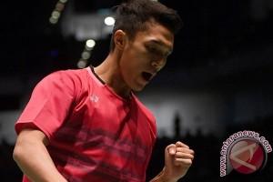 Ke semifinal Korea Terbuka, hadiah ultah Jonatan
