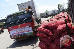 247 ton bawang merah diekspor ke Singapura, Thailand