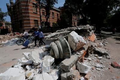 Gempa Meksiko, misi pencarian paling mendebarkan di sekolah ambruk