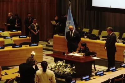 Indonesia tandatangani traktat pelarangan senjata nuklir