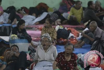 59.820 jiwa mengungsi akibat erupsi Gunung Agung