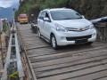 Jembatan Darurat Jalur Wisata Dieng