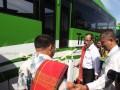 Menhub Resmikan Bus Bandara Binjai