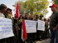 Unjuk Rasa Warga Eks Timor Timur