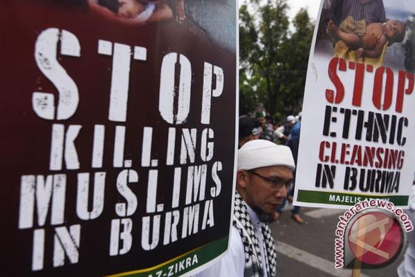 Tiga Rohingya tewas, diduga kena ranjau Myanmar