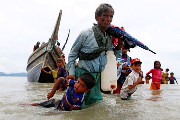 PBB: 370.000 pengungsi Rohingya melarikan diri dari Myanmar ke Bangladesh