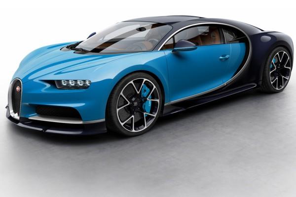 Bugatti Chiron melesat hingga 400 km/jam dalam 32,6 detik