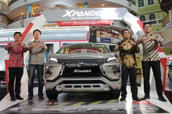 Mitsubishi Xpander hadir di Balikpapan, berikut harganya