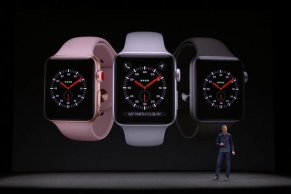 Apple Watch Series 3 Meluncur, Ini Spesifikasinya