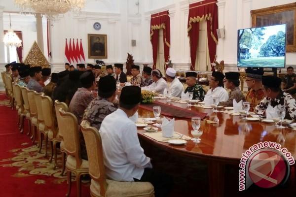 Presiden minta ulama jaga kerukunan tahun politik