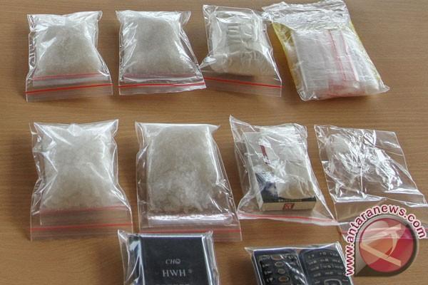 Polisi Langkat blender 131,4 gram sabu-sabu