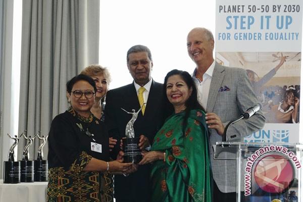 Menlu Retno raih penghargaan agen perubahan dunia