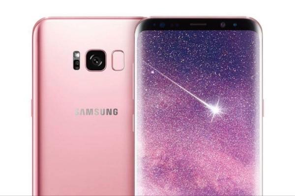 Samsung Galaxy S8+ Rose Pink Kini Tersedia Di Eropa