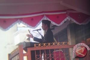 Presiden Jokowi menyebut Sukabumi sebagai kota berkembang