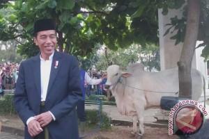 Presiden Jokowi blusukan di kota Sukabumi sambangi warga