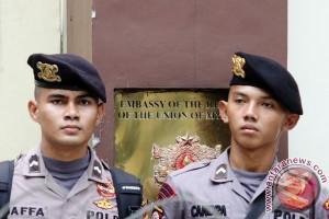 Pengamanan Kedubes Myanmar