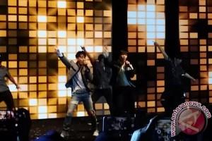 Donghae dan Eunhyuk Super Junior suka antusiame Elf Indonesia
