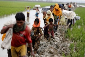 Krisis kemanusiaan mengancam, 125.000 Rohingya masuk Bangladesh