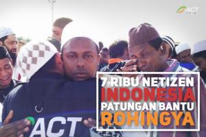 Warganet Indonesia galang dana Rp2,5 M untuk Rohingya