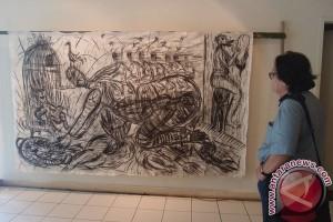 Pelukis Borobudur pameran di Vietnam
