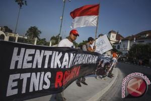 Aksi Solidaritas Rohingya Yogyakarta