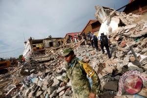 Ribuan rumah hancur, 91 tewas akibat gempa di Meksiko
