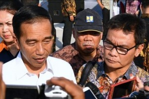 Presiden Jokowi minta percepatan pembangunan infrastruktur